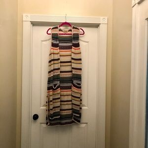 Democracy Calf Length Sweater Vest (Sz. XL)